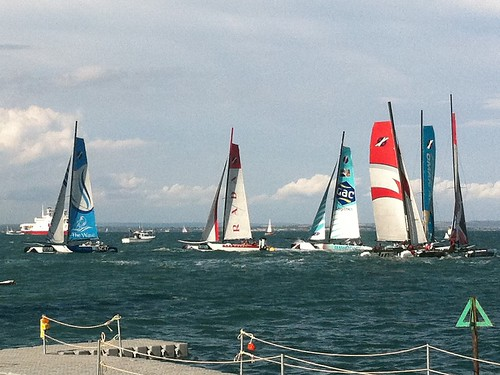 yacht catamaran cowes cowesweek eaglepoint extreme40 extremesailingseries