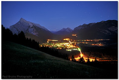 Blue Hour Banff (Panorama Paul) Tags: canada alberta greenspot banffnationalpark mount nohdr sigmalenses nikfilters nikond300 wwwpaulbruinscoza paulbruinsphotography norquay