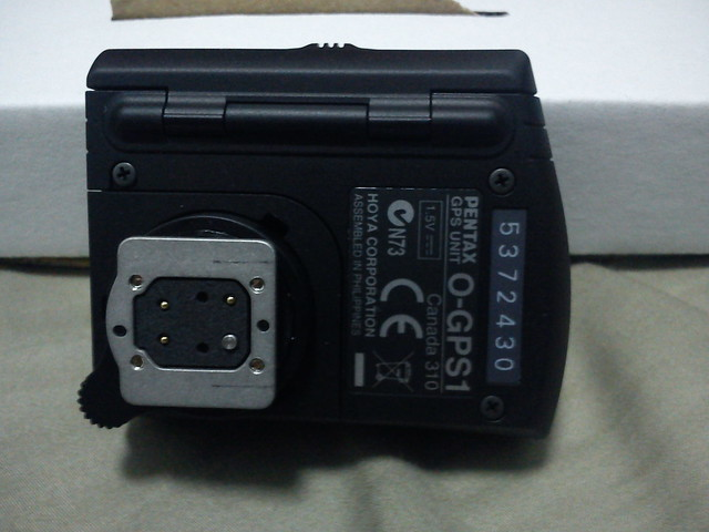 [簡易開箱]Pentax O-GPS1