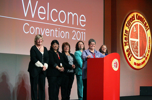 Presidents at convention