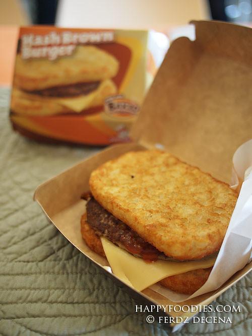Unveiling Jollibee's Hash Brown Burger