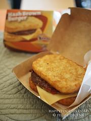 Jollibee Hash Brown Burgers