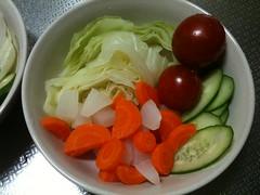 朝食サラダ(2011/9/16)