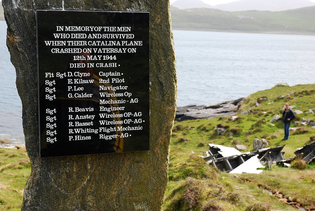Catalinia War Grave on Vatersay