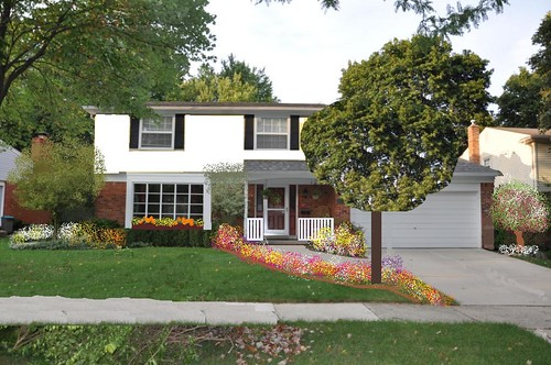 Front Yard Ideas for Colonial