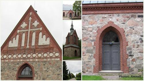 Pyhän Laurin kirkko Vantaa by Anna Amnell
