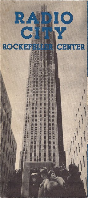 1940's Era Rockefeller Center-Radio City Brochure0002