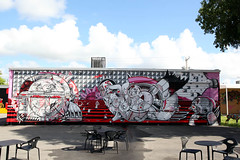 How & Nosm TATS Cru (STEAM156) Tags: street nyc usa streetart art graffiti travels photos miami bronx murals bio places trains kings how walls nicer tats tatscru wynwood nosm bg183 themuralkings hownosm steam156 steam156photos