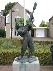 Keldonk NBr. landarbeider Peel. (Arthur-A) Tags: netherlands nederland worker peel paysbas brabant niederlande noordbrabant staue landarbeider peelwerker keldonk