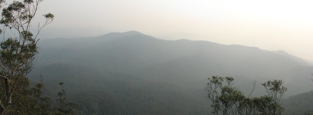 Hills in the Haze