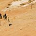 Jordan - Beduins on donkeys