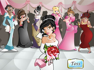 Wacky Wedding Bonus Game
