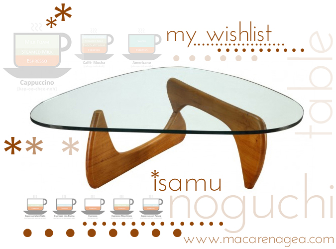 WISHLIST: Noguchi Coffee Table