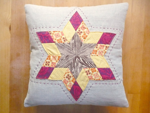 The Falling Starburst Pillow