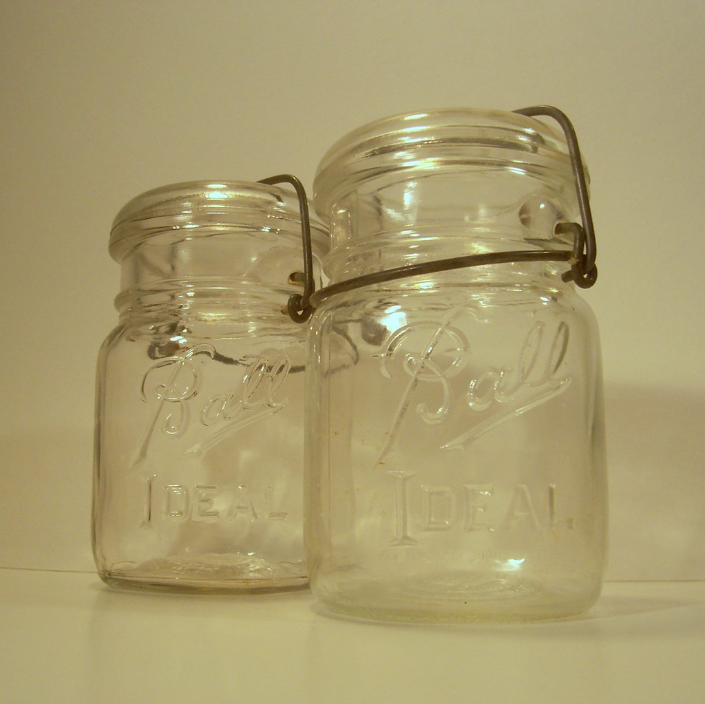 Vintage Ball Canning Jar Set