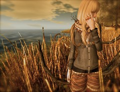 ...feel the autumn air... (lindini2) Tags: hair boots ring sl secondlife shorts sixtynine muffler mnm noar flowey dpyumyum alirium duboo laviere nordicprintcardigan acornfarmbackpack