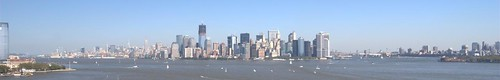NYC from Statue of Liberty