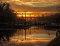 The Locks (Keo6) Tags: sunset river locks weaver blinkagain bestofblinkagain
