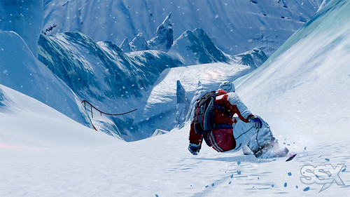 SSX for PS3: antarctica