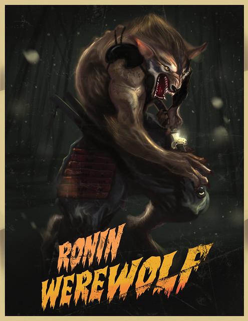 ronin werewolf rocketraygun kelvin chan