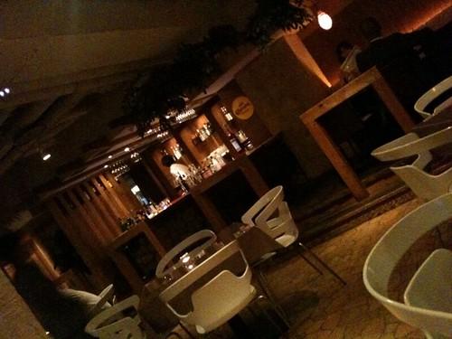 店内はとてもいい雰囲気でした!@Grotta Azzurra