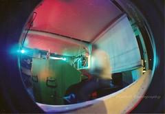 (.MartaR.) Tags: fisheye lomo lomography film pellicola analog musica music tastiera uomo man nonricordocomesichiamailtiziochesuona estate summer 2011 sansalvo kodakcolorplus200 posab longexposure