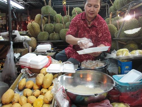 mango sticky rice cart