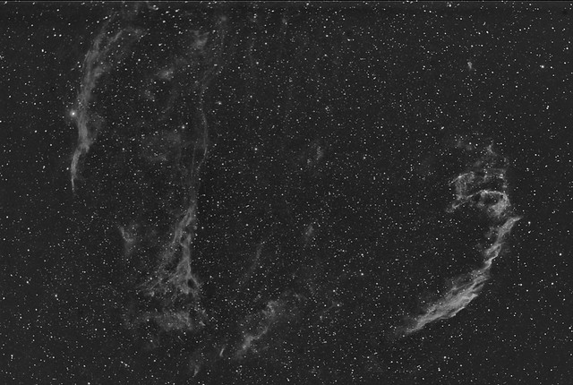 The Veil Nebula (west and east)