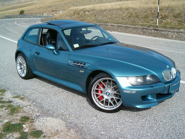 S50B32 BMW M Coupe | Topaz Blue | Black