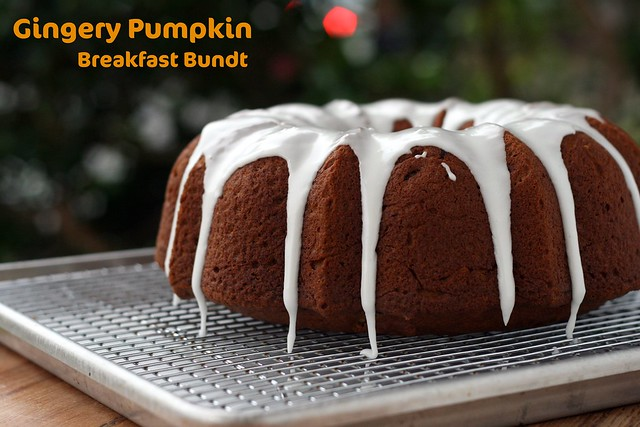 Gingery Pumpkin Breakfast Bundt - I Like Big Bundts 2011