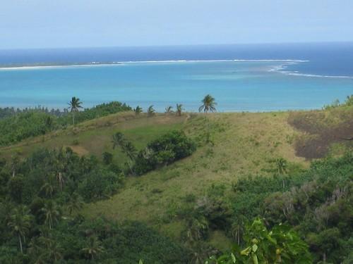 Aitutaki Lagoon from Mt Maunga