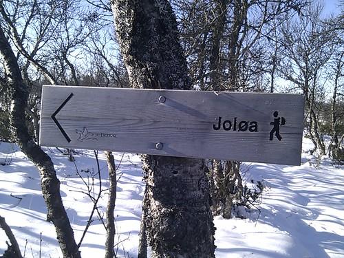 Bilde av skilt til Joløa