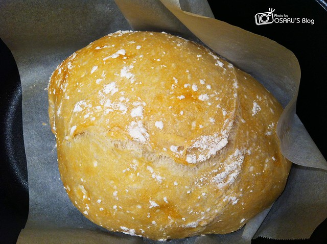 免揉麵包(No-Knead Bread)