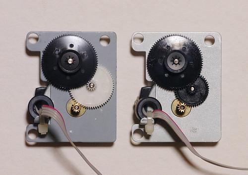 Comparison of a motor unit