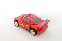 8423 World Grand Prix Racing Rivalry Lightning McQueen - Rear