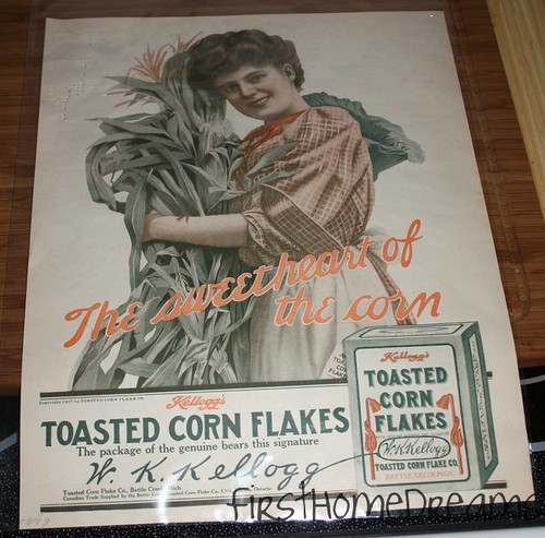 Antique Cornflakes Advertisement