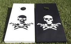 Skull & Bones Cornhole Sets