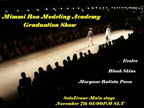 MBMA Graduation Show - November 7th 01:00 PM SLT by mimmiboa81
