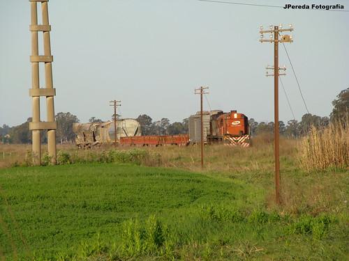 ALCO RSD35 6428 + Tren servicios.