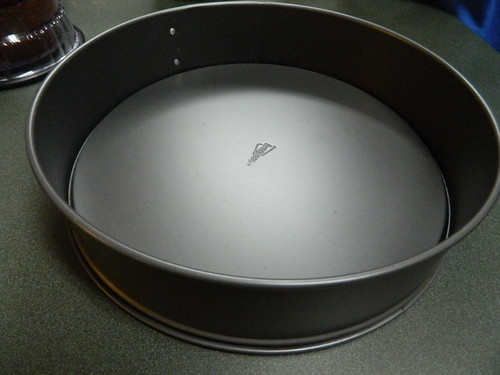Cheesecake Pan with Bottom Inverted