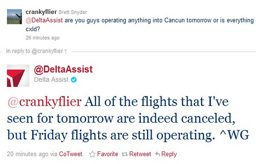 Delta Tweets it Right