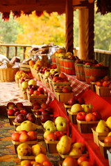 Autumn Bounty in Velarde (beegardener) Tags: october apples taos fruitstand taosnewmexico riograndegorge velarde supershot northernnewmexico autumnbounty velardenewmexico