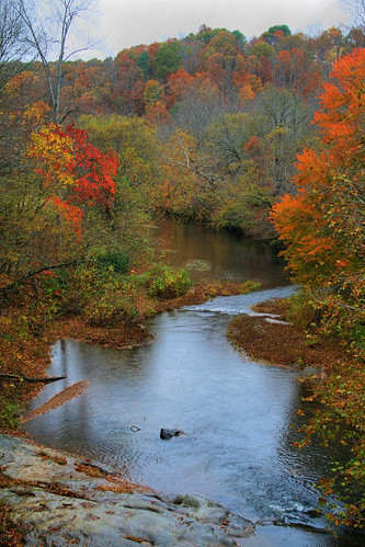 Autumn on the Peddler River