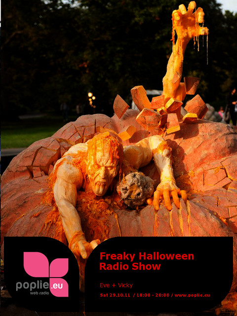 Eve+Vicky Freaky Halloween Radio Show Poster 1