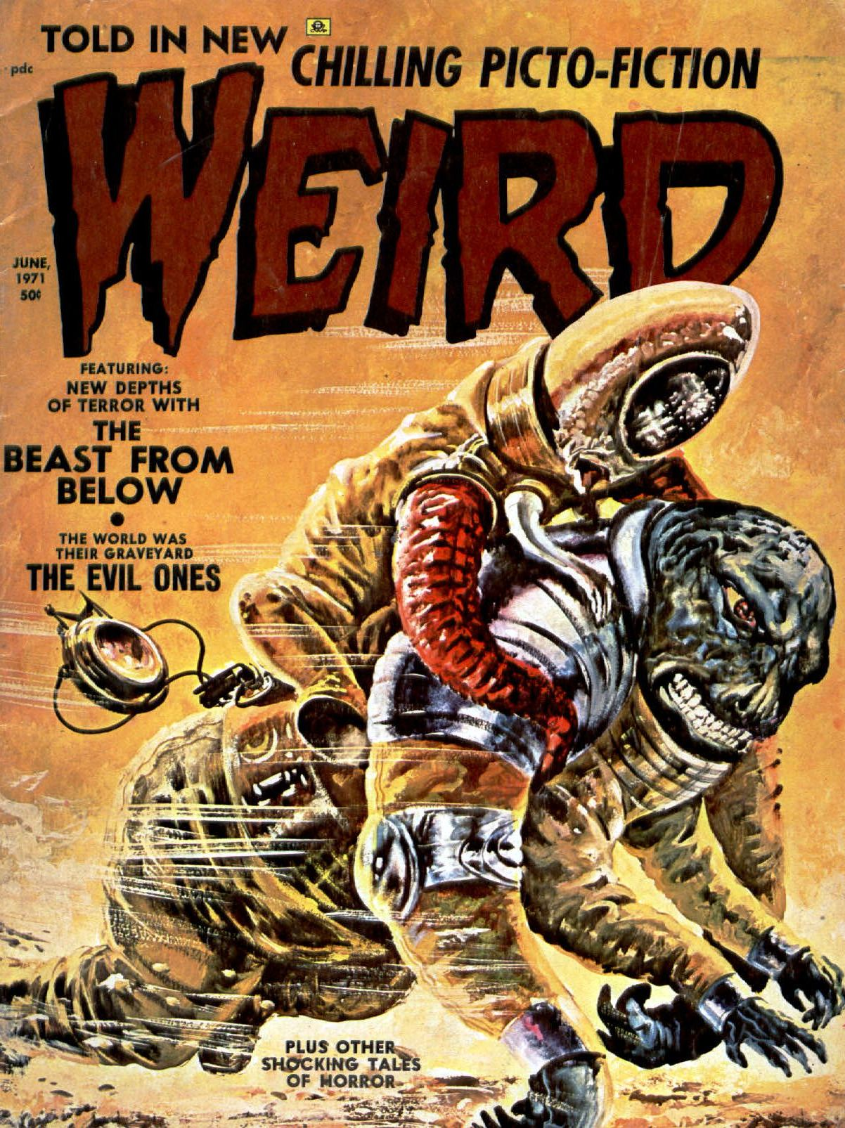 Weird Vol. 05 #3 (Eerie Publications, 1971)