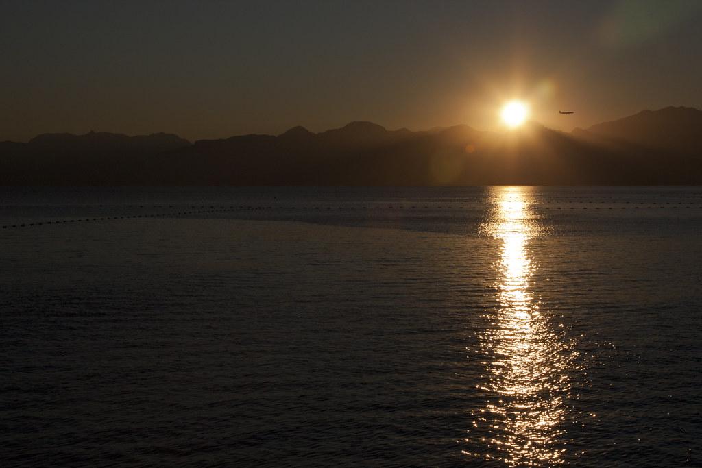 A Plane Sunset
