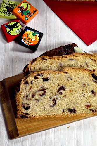 Trick or Treat? Either way – come and have a slice of Barm Brack with me!