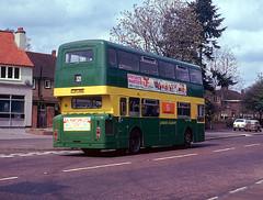 AN46 rear Garston 14 April 1973 (national_bus_510) Tags: