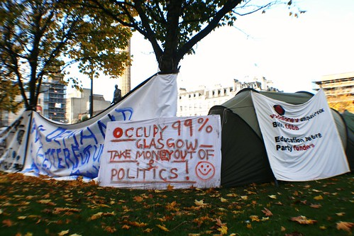 Protest Encampment, George Square