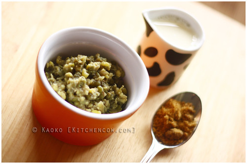 Mung Beans with Milk